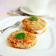 芝香柿子糯米饼