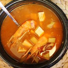 韩式辣酱汤