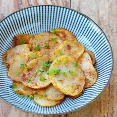 烧烤土豆片