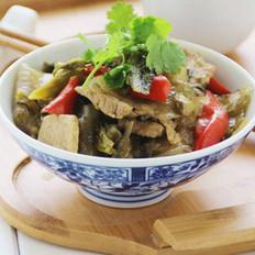 酸菜猪肉炖粉皮