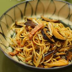 姜汁香菇炒面