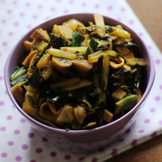 冬腌菜杂炒