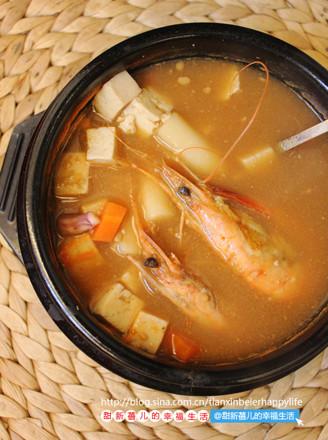 年糕大酱汤的做法