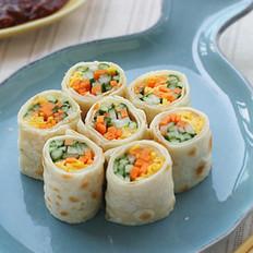 黄瓜泡菜卷