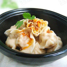 胡萝卜猪肉饺子