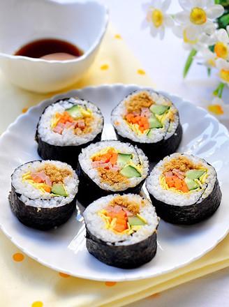寿司卷的做法_家常寿司卷的做法【图】寿司卷的家常
