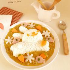 咖喱白玉萝卜