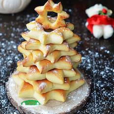 面包圣诞树