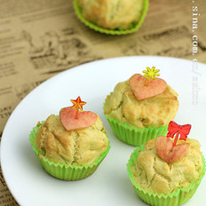 苹果糯米小蛋糕