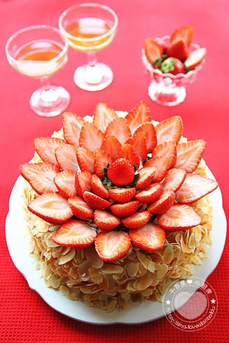 水果粘贴画菠萝