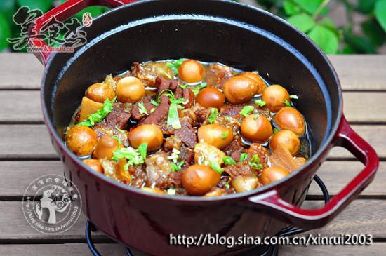 鹌鹑蛋炖牛腩-美食杰-荞麦,美食-中国最全的烧酒菜谱什么颜色好图片