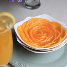 橙香萝卜花
