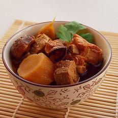 蚝豉萝卜焖肋排