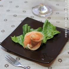 烟三文鱼沙拉