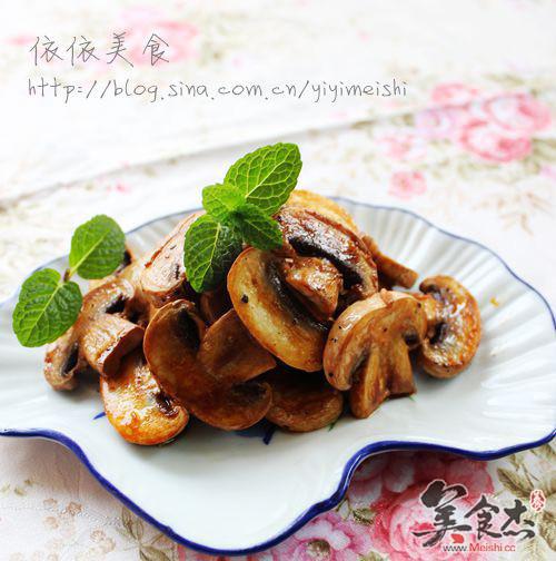 蘑菇 酱油/酱油黑椒蘑菇...