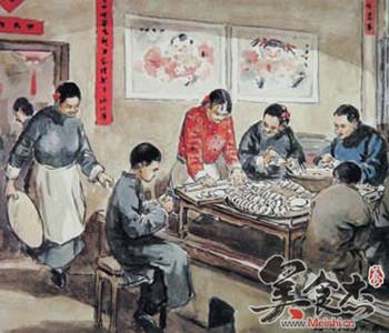 过年吃饺子的来历与传说gZ.jpg