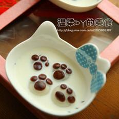 巧克力猫爪汤圆