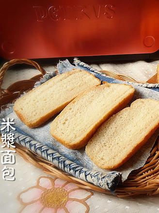 米浆面包的做法