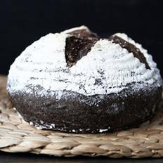 黑米黑芝麻面包