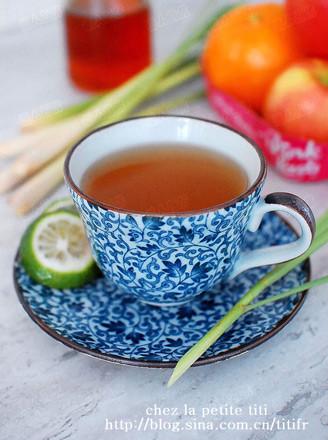 蜂蜜香茅柠檬茶的做法