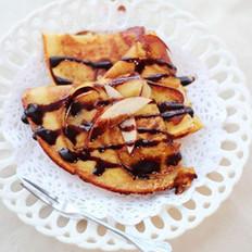 焦糖苹果可丽饼