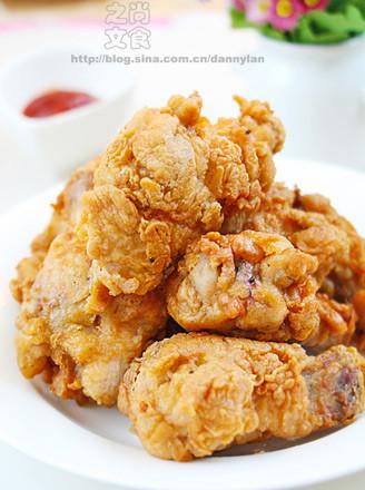 油炸鸡翅的做法大全_香酥鸡翅根的做法_香酥鸡翅根怎么做_尚食之文_美食杰