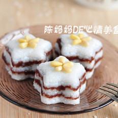 松仁豆沙米糕