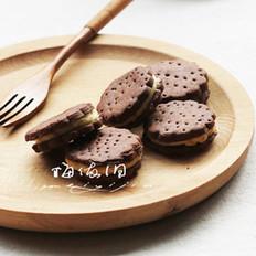 巧克力香橙夹心饼干