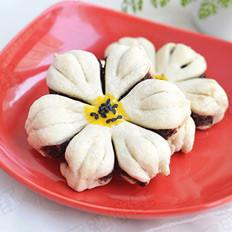 葵花豆沙酥