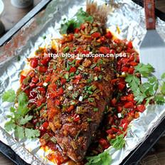 锡纸烤鲈鱼