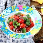 圣女果暖食沙拉