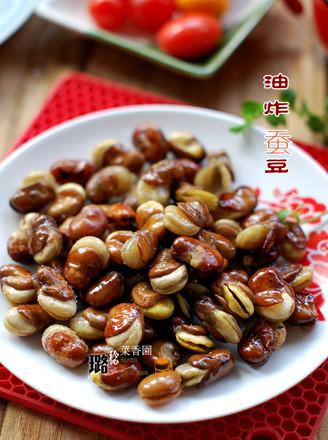 油炸蚕豆的做法