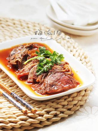 红扒牛肉的做法