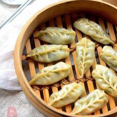 韭菜柳叶蒸饺