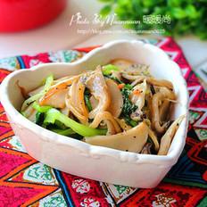 黑椒烤蘑菇