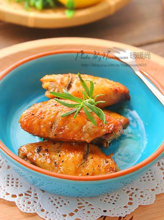 迷迭香烤鸡翅