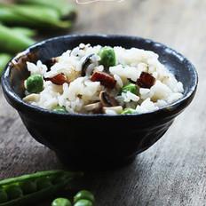 糯米豌豆饭