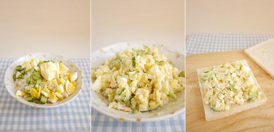 馬鈴薯沙拉麵包的做法_家常馬鈴薯沙拉麵包的做法 ...