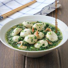 荠菜烩鲜菇