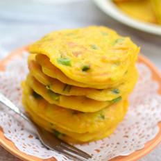 玉米面胡萝卜煎饼