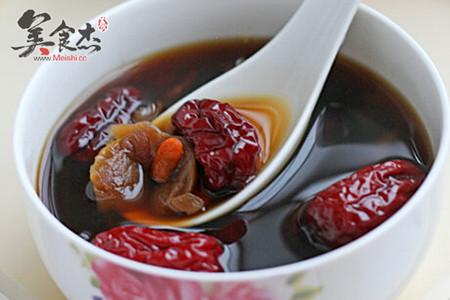 红枣桂圆枸杞红糖水-世界杯美食观赛指南