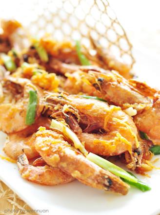 肉松香酥虾