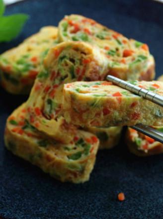 韩式蔬菜鸡蛋卷