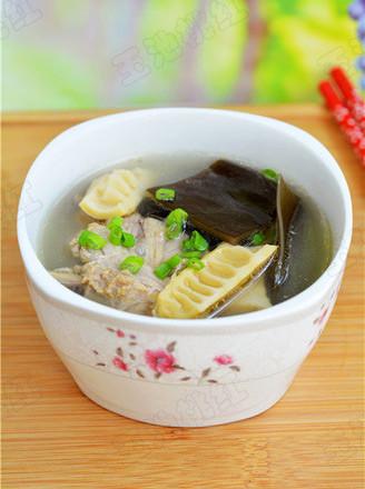 笋干海带老鸭汤