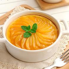 焦糖黄桃烤布蕾
