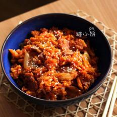 泡菜五花肉炒饭