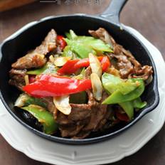 百合炒牛肉