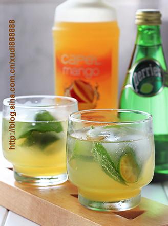 芒果青橘饮
