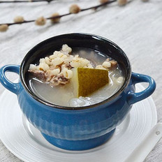 薏米冬瓜煲排骨