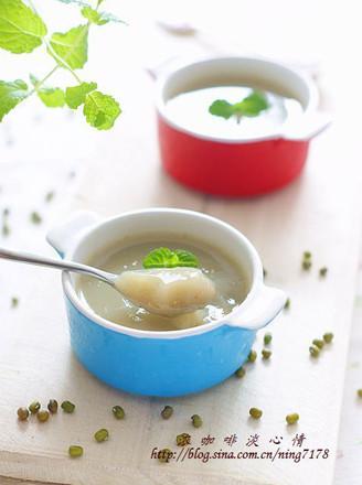 蜂蜜绿豆冻